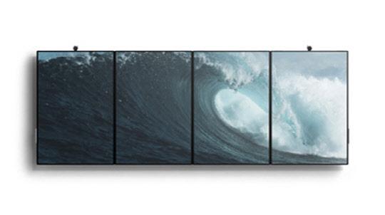 MS, 대화면 멀티터치 태블릿…50.5인치 `서피스 허브2` 공개